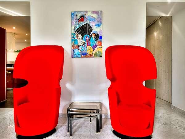 Appartement Massena Dream décoré avec goût