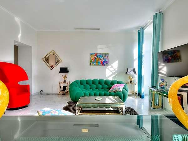 Salon de l'appartement Massena Dream